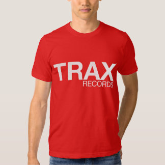 TRAX Records Signature Red Tee