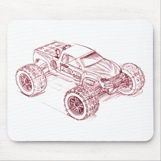 trax revo 33 mouse pad