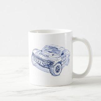 Trax Slash Classic White Coffee Mug