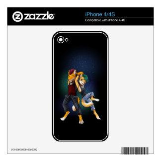 Trax y Triks iPhone 4 Calcomanía