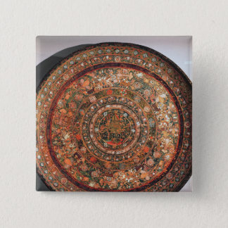 Tray from the Michoacan tribe Pinback Button