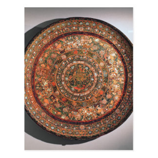 Tray from the Michoacan tribe Postcard