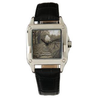 Trayectoria a encenderse relojes de pulsera