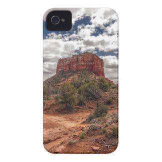 Trayectoria a la roca de Bell iPhone 4 Carcasas
