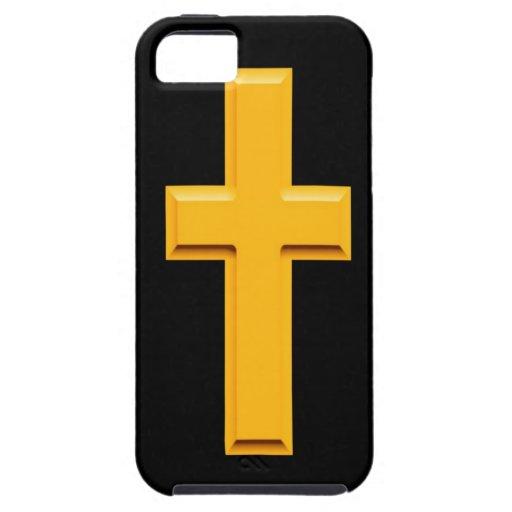 trayectoria cruzada de oro a la paz iPhone 5 Case-Mate fundas