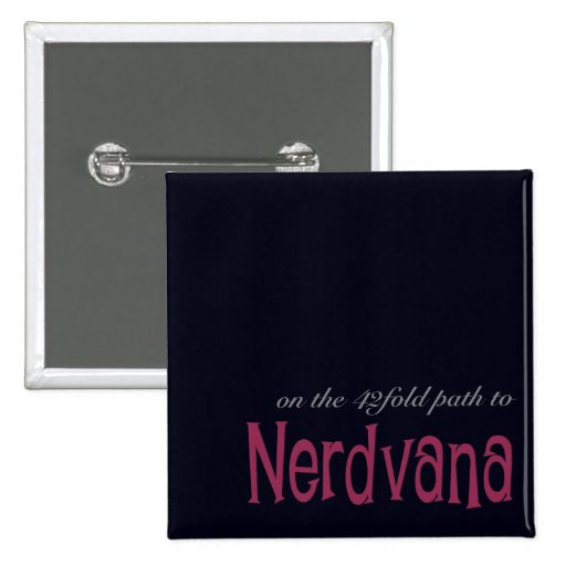 Trayectoria de 42 dobleces a Nerdvana (rosa) Pin