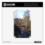 Trayectoria de bosque calcomanías para iPod touch 4G