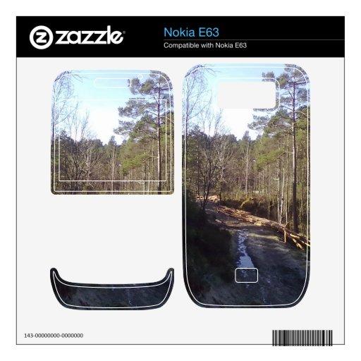 Trayectoria de ForForest Calcomanías Para Nokia E63