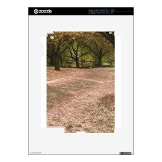 Trayectoria de la flor de cerezo de Sakura Calcomanía Para El iPad 2
