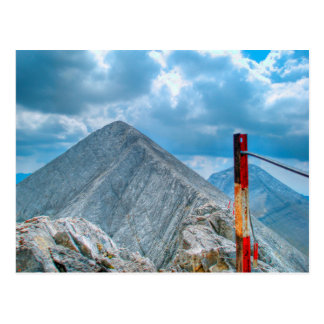 """Trayectoria de la montaña """"del Horsie"""" Postal"""
