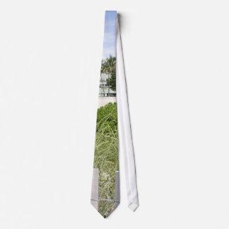 Trayectoria de la playa corbata personalizada