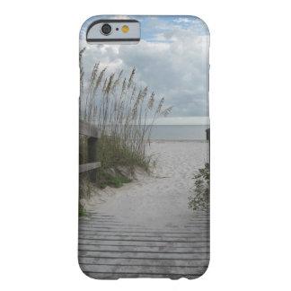 Trayectoria de la playa de la Florida Funda Barely There iPhone 6