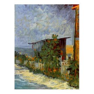 Trayectoria de Montmartre con la bella arte de Van Tarjetas Postales