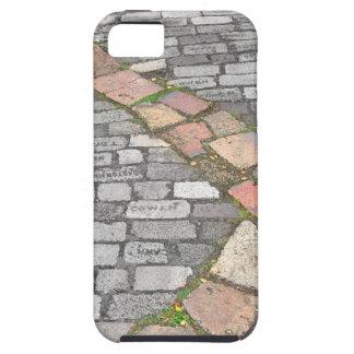 Trayectoria de piedra de la arcilla iPhone 5 fundas