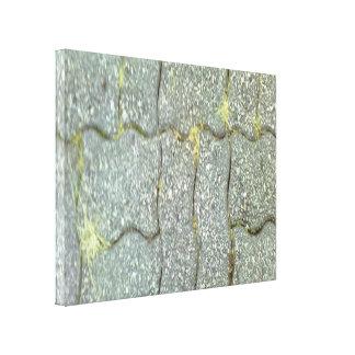 Trayectoria de piedra lona estirada galerias