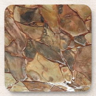 Trayectoria de piedra posavaso