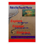 Trayectoria del guerrero pacífico posters