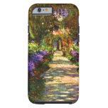 Trayectoria del jardín de Claude Monet Funda De iPhone 6 Tough