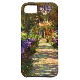 Trayectoria del jardín de Claude Monet iPhone 5 Fundas