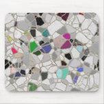 trayectoria del mosaico de la pizarra tapetes de raton