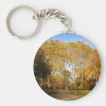 Trayectoria del otoño, Central Park, New York City Llavero