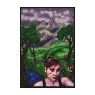 Trayectoria del vampiro, impresión de la lona del  impresiones de lienzo