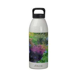 Trayectoria del zen botella de beber