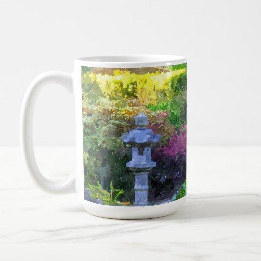 Trayectoria del zen taza de café