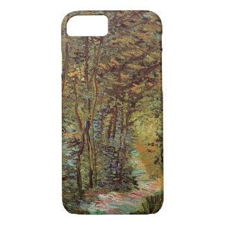 Trayectoria en las maderas, bella arte de Van Gogh Funda iPhone 7