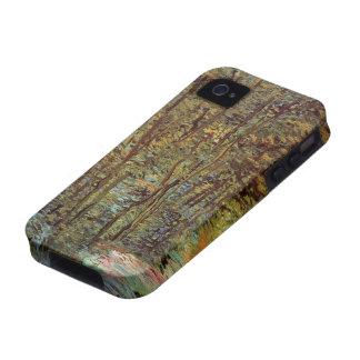 Trayectoria en las maderas, impresionismo de Van iPhone 4/4S Carcasa