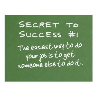 Trayectoria fácil al éxito (2) postales