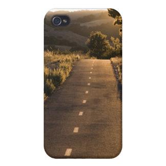 Trayectoria i de la puesta del sol iPhone 4/4S funda