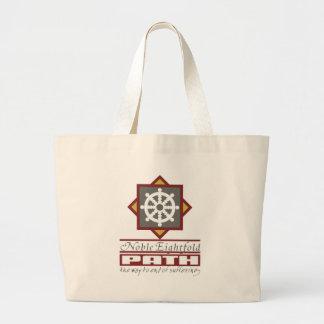 Trayectoria multiplicada por ocho budista bolsas