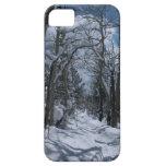 Trayectoria nevada a través de las montañas rocosa iPhone 5 Case-Mate carcasa