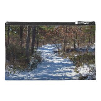 Trayectoria nevada del arbolado en invierno