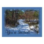 Trayectoria nevada del arbolado en invierno anuncios personalizados