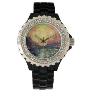 Trayectoria pacífica relojes de pulsera