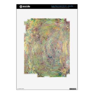 Trayectoria sombreada el | de Claude Monet Pegatina Skin Para iPad 3