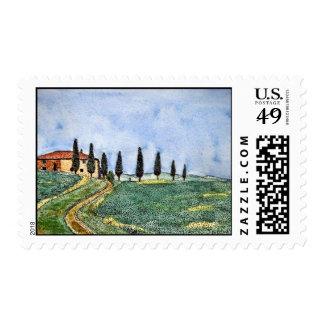 Trayectoria toscana sellos