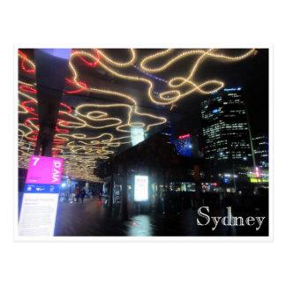 trayectorias ligeras vivas de Sydney Postales