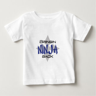 Trayendo Ninja detrás Playera De Bebé