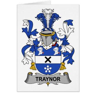Traynor Family Crest Card