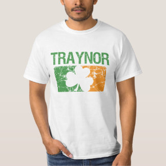 Traynor Surname Clover T-Shirt
