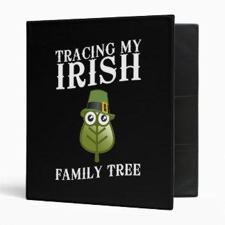 "Trazado de mi árbol de familia irlandés carpeta 1"""