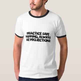 ¡Trazado seguro de la práctica, siempre Remeras