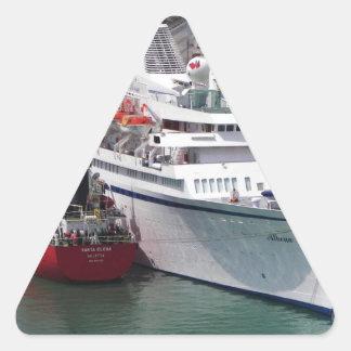Trazador de líneas Athena Pegatina Triangular