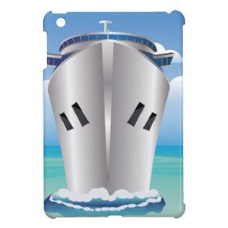 Trazador de líneas de la travesía en el mar