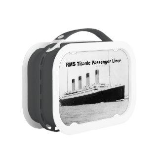 Trazador de líneas de pasajero titánico del RMS