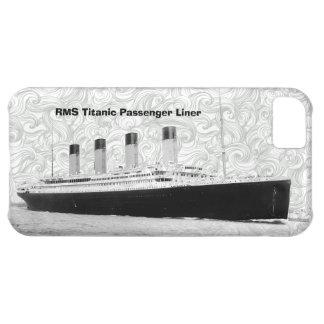 Trazador de líneas de pasajero titánico del RMS Funda Para iPhone 5C