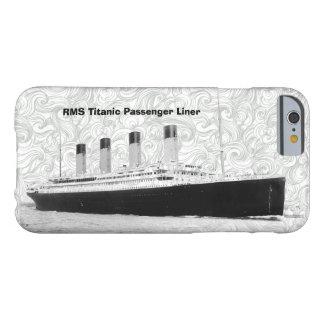 Trazador de líneas de pasajero titánico del RMS Funda Para iPhone 6 Barely There